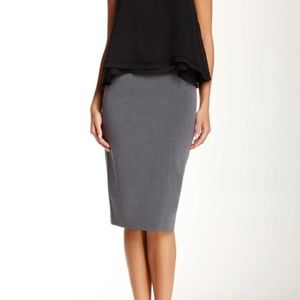 Amanda + Chelsea belted pencil skirt size 10